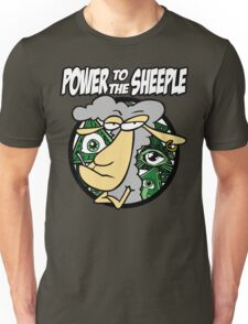 Power To The Sheeple - Anti New World Order Unisex T-Shirt