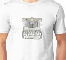 burma typewriter Unisex T-Shirt