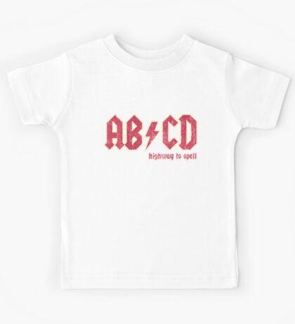 AB/CD Kids Tee