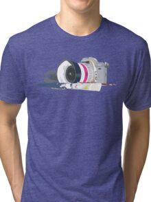 camera and brush Tri-blend T-Shirt