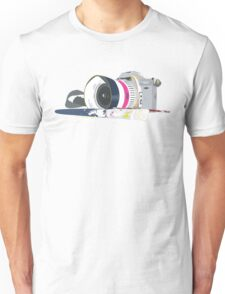 camera and brush Unisex T-Shirt