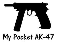 CS:GO Pocket AK-47 (CZ-75) by AngusDrake