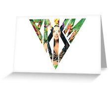 Katy Perry Roar Prism Greeting Card