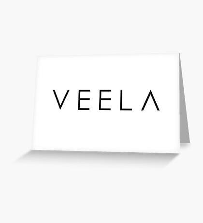 Veela Logo Greeting Card