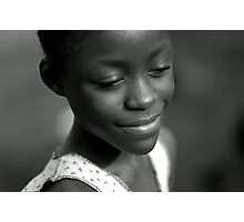Serenity Smile from Liberia Photographic Print