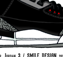 Air Jordan 3 / Smile Design 2014 Sticker