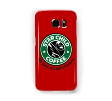 Star Child Coffee Samsung Galaxy Case/Skin