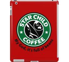 Star Child Coffee iPad Case/Skin