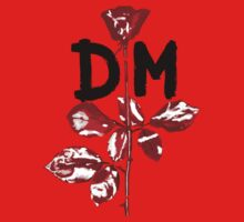 Depeche Mode : Violator DM Paint Black  Kids Clothes