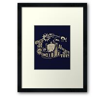 Always Mania Framed Print