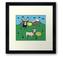 Too Much Sound Framed Print