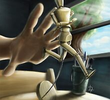 Run woodenman! by Alfonso Rosso
