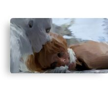 Yewll and Irisa  Canvas Print