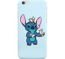 Stitch with Ducks iPhone Case/Skin