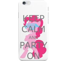 Party On Grey iPhone Case/Skin