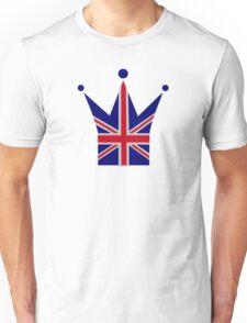 Crown United Kingdom flag Unisex T-Shirt