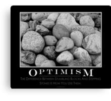 Optimism Canvas Print