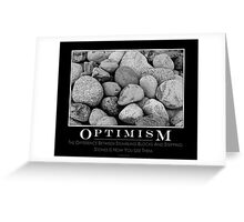 Optimism Greeting Card