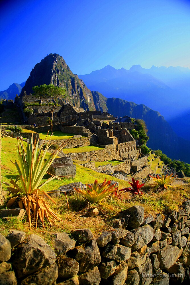 Machu Picchu, Peru by Rebecca Smith