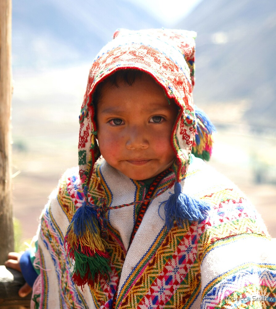 Peru Boy by Rebecca Smith