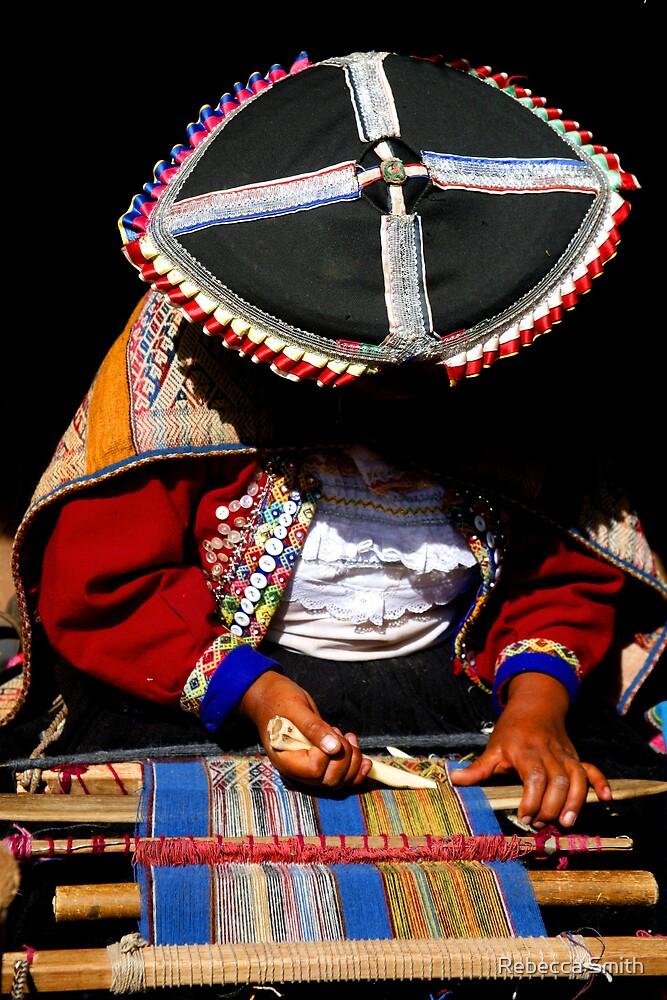 Weaver Lady Peru by Rebecca Smith