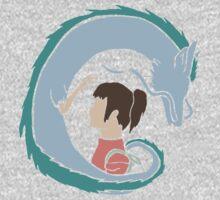 Haku and Sen Baby Tee