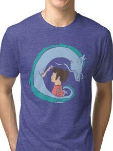 Haku and Sen Tri-blend T-Shirt