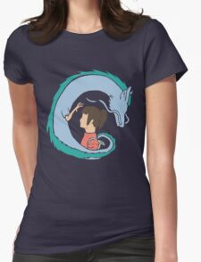 Haku and Sen Womens Fitted T-Shirt