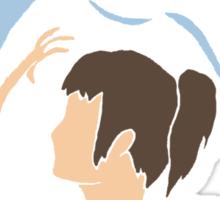 Haku and Sen Sticker