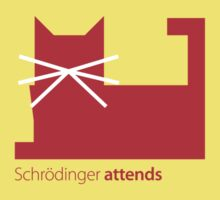 Schrödinger attends Kids Clothes