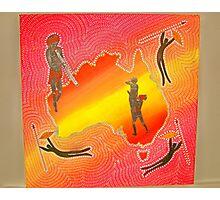 Aboriginal Love Song  Photographic Print