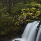 The Mylla Waterfall by Anders Naesset