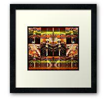 the martian faery dance Framed Print
