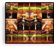 the martian faery dance Canvas Print