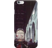 Nave St Martins church Bowness Lake District England 19840521 0001 iPhone Case/Skin