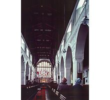 Nave St Martins church Bowness Lake District England 198405210001 Photographic Print
