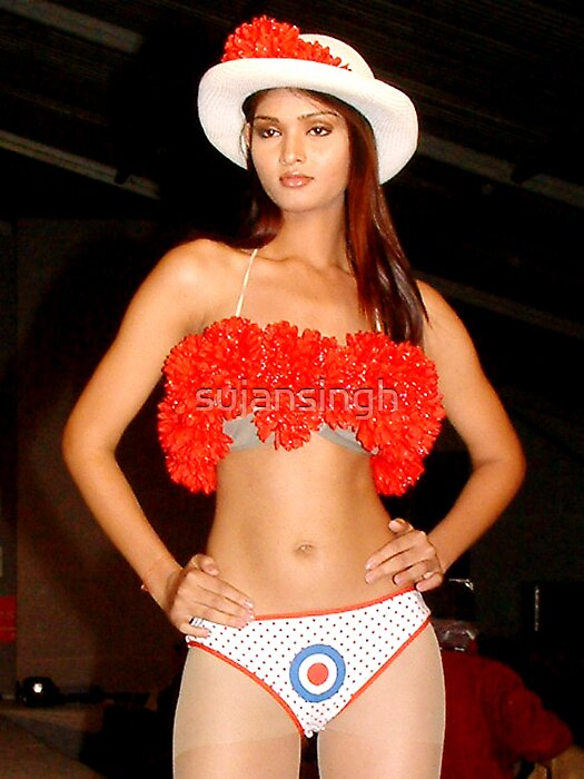 Lingerie fashion show  by sujansingh