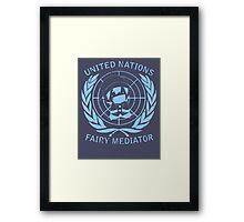 Fairy Mediator Framed Print