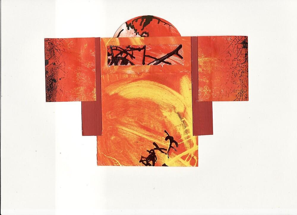 outback kimono by Suzie Shaw
