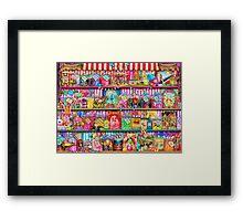 The Sweet Shoppe Framed Print