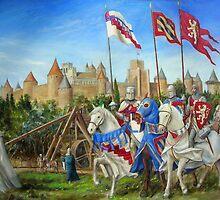 Siege of Carcassonne by dashinvaine