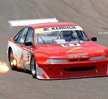 Flamin' Sports Sedan by Trent Wallis