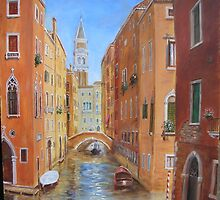 Venetian Canal by dashinvaine