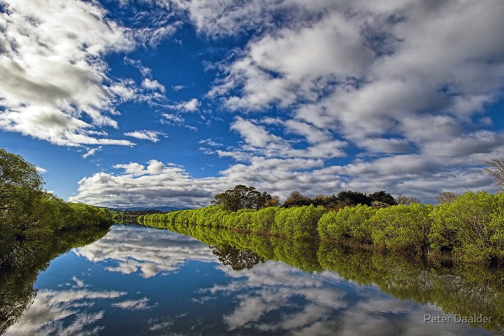 South Esk Reflections by Peter Daalder