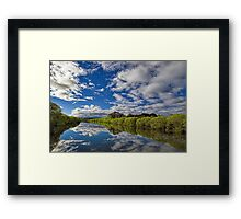 South Esk Reflections Framed Print