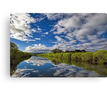 South Esk Reflections Canvas Print