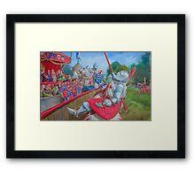 Joust Framed Print