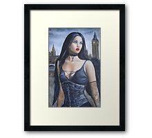London Gothic Framed Print