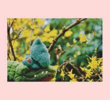 Gator McBumpypants and Herman smell the flowers One Piece - Long Sleeve