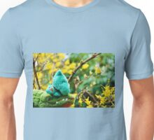 Gator McBumpypants and Herman smell the flowers Unisex T-Shirt